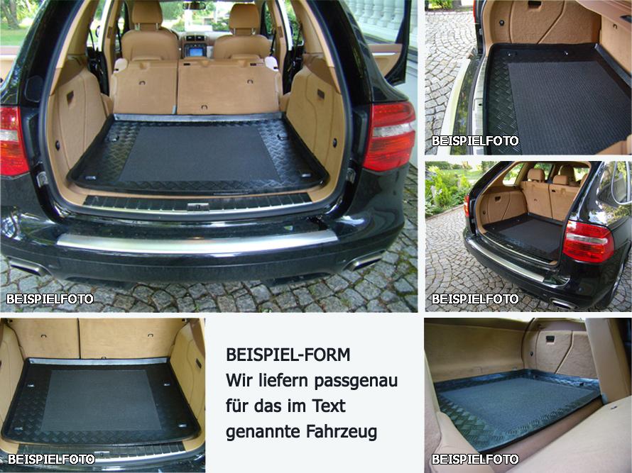 ab 2015 Kofferraumwanne Antirutsch für Volvo XC90 II-Generation Bj
